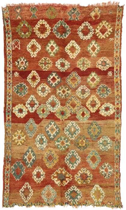 6 x 10 Vintage Moroccan Rug 20916