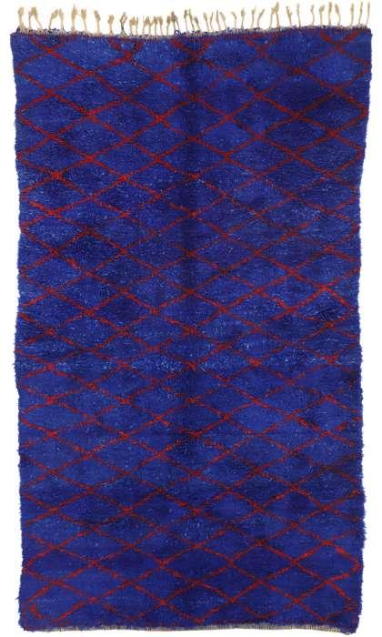 6 x 10 Vintage Moroccan Rug 20934