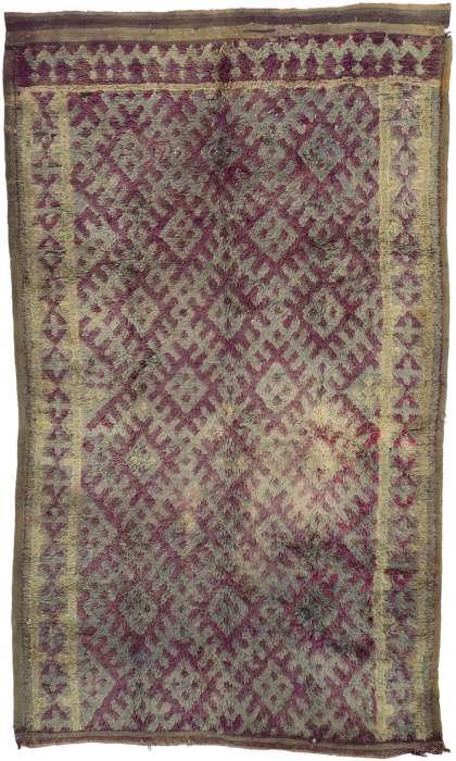 7 x 11 Vintage Moroccan Rug 20938