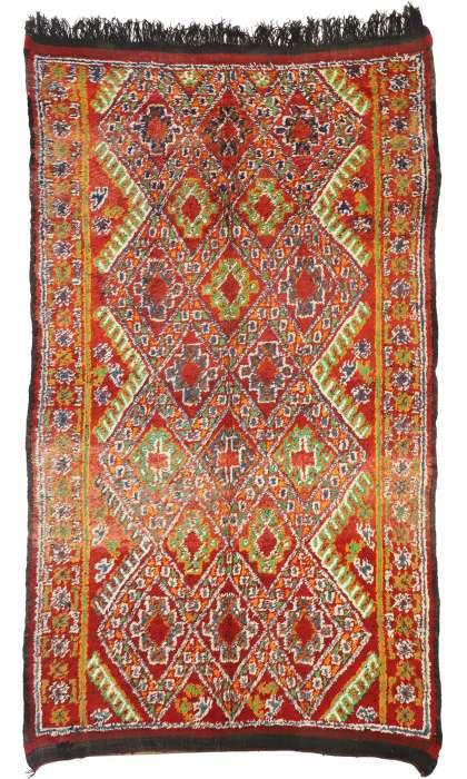 6 x 11 Vintage Moroccan Rug 20940