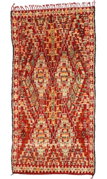 7 x 13 Vintage Moroccan Rug 20941