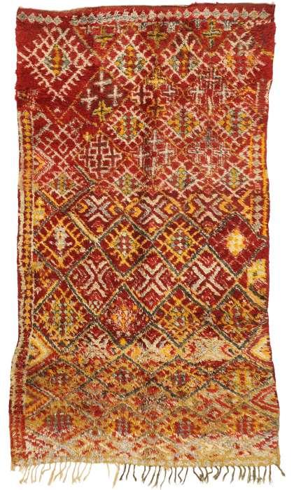 6 X 10 Vintage Moroccan Rug 20944