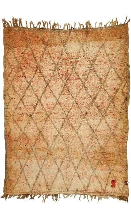 6 x 8 Vintage Moroccan Rug 20946