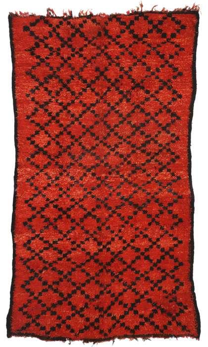 6 x 10 Vintage Moroccan Rug 20949