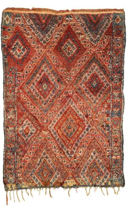 6 x 9 Vintage Moroccan Rug 20980