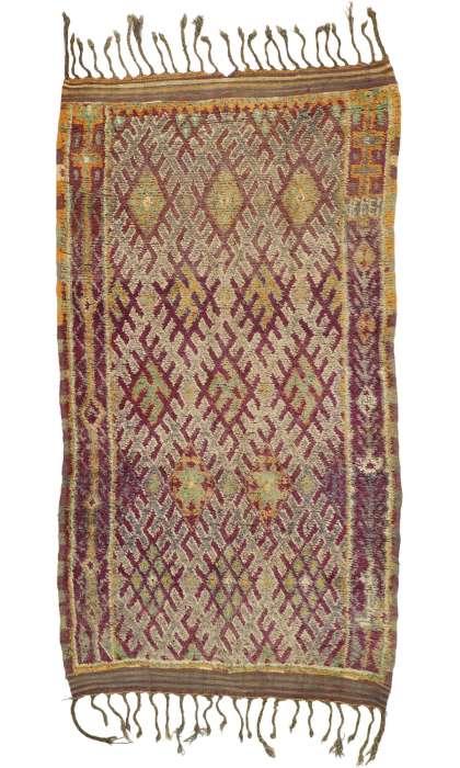 7 x 12 Vintage Moroccan Rug 20989