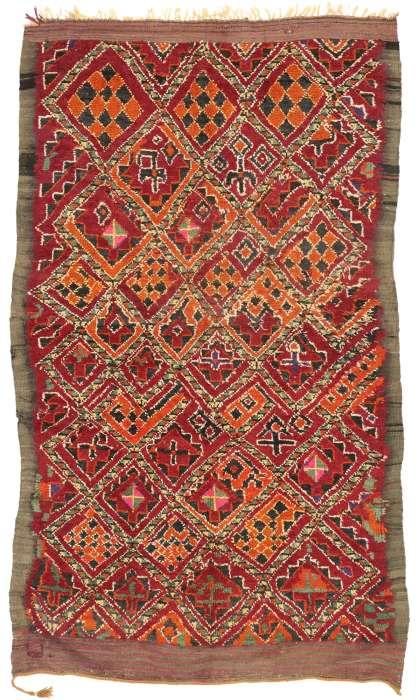 6 x 10 Vintage Moroccan Rug 20991