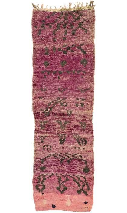 3 x 11 Vintage Moroccan Rug 21002