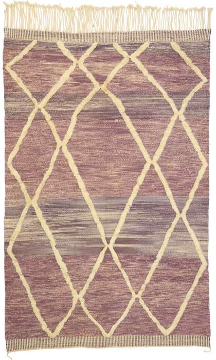 7 x 11 Contemporary Moroccan Rug 21059