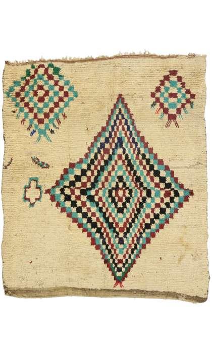 5 x 6 Vintage Moroccan Rug 21067