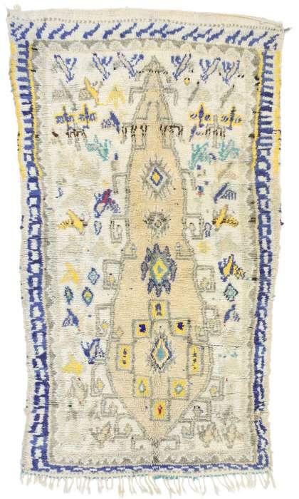 4 x 6 Vintage Moroccan Rug 21069