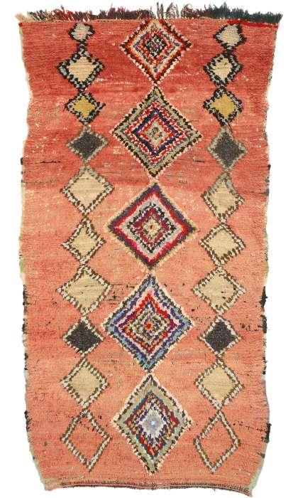 4 x 8 Vintage Moroccan Rug 21076