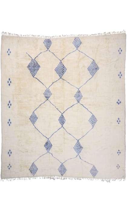 17 x 19 Contemporary Moroccan Rug 21087