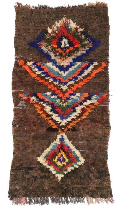 3 x 6 Vintage Moroccan Rug 21070