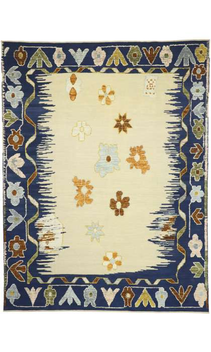 10 x 14 Turkish Oushak Rug 30516