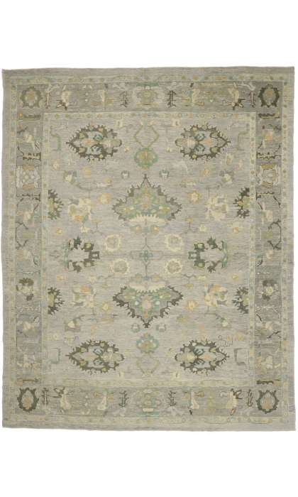 12 x 15 Turkish Oushak Rug 52790