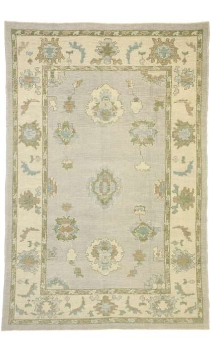 6 x 10 Turkish Oushak Rug 52796