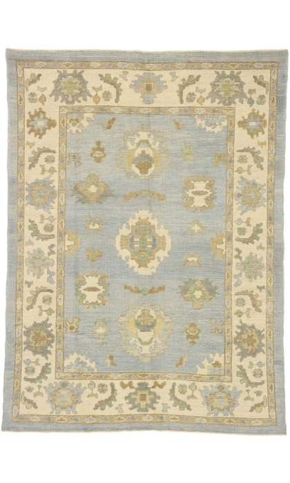 6 x 8 Turkish Oushak Rug 52797