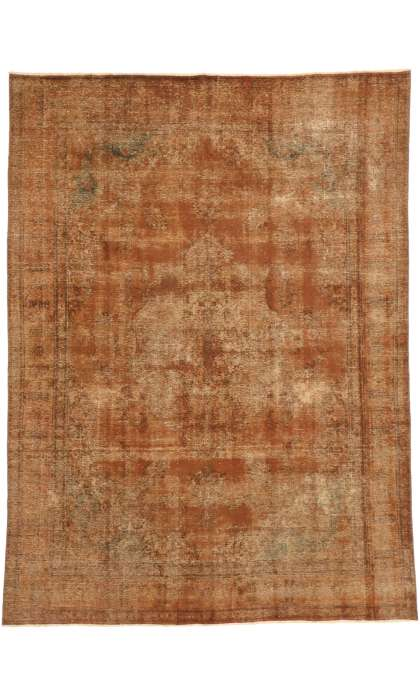 9 x 13 Vintage Overdyed Rug 60691