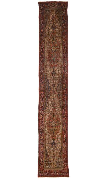 3 x 20 Antique Seneh Rug 77397