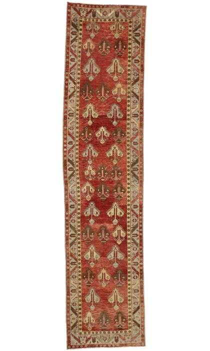 5 x 20 Vintage Oushak Rug 50915