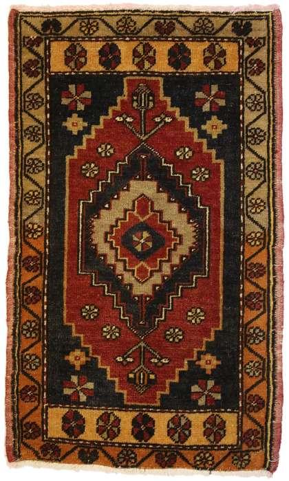 2 x 3 Vintage Oushak Rug 50935