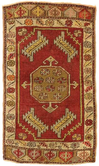 2 x 3 Vintage Yastik Rug 51496