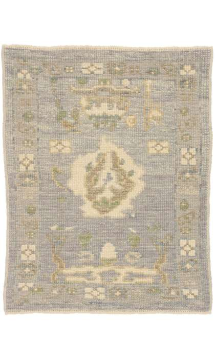 2 x 3 Contemporary Turkish Oushak Rug 52802