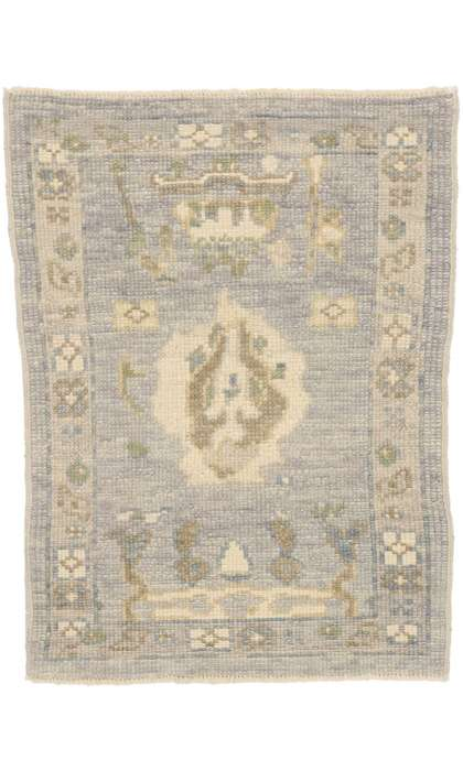 2 x 3 Contemporary Turkish Oushak Rug 52803