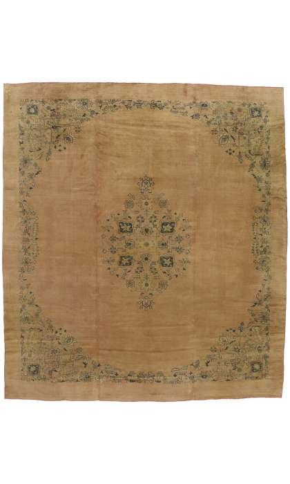 12 x 14 Antique Turkish Oushak Rug 50214