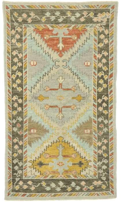 3 x 6 Turkish Oushak Rug 52826