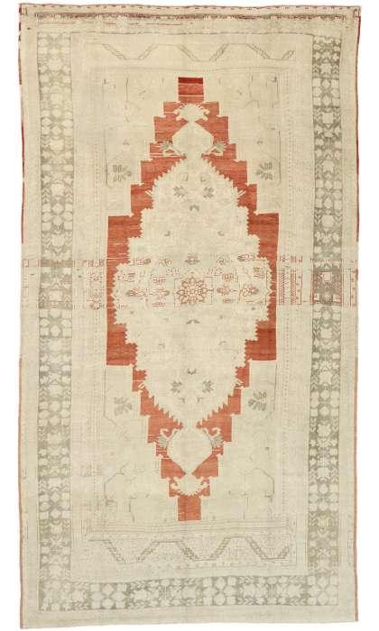 7 x 13 Vintage Oushak Rug 52832