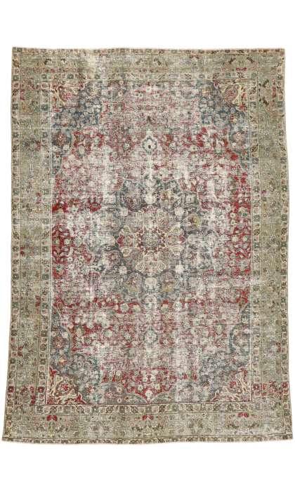 9 x 12 Antique Tabriz Rug 52840