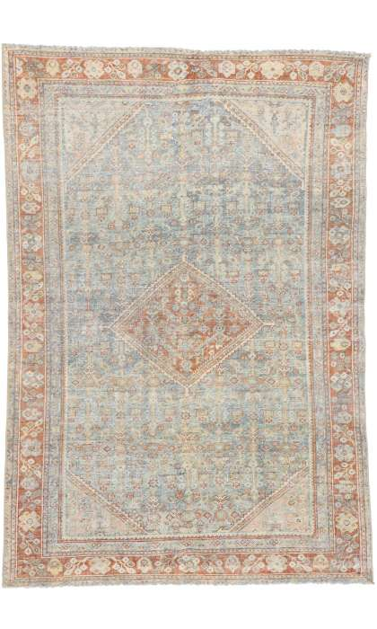 4 x 6 Antique Mahal Rug 52845