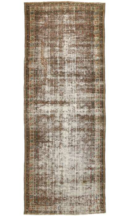 7 x 19 Distressed Antique Malayer Rug 528517 x 19 Distressed Antique Malayer Rug 52851