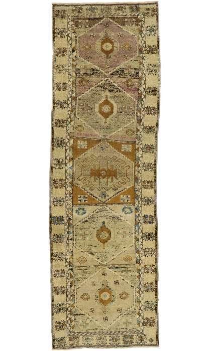 4 x 12 Vintage Oushak Rug 52852