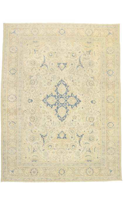 10 x 14 Antique Tabriz Rug 52855