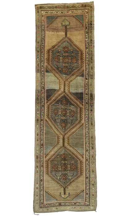 5 x 18 Antique Oushak Rug 52857