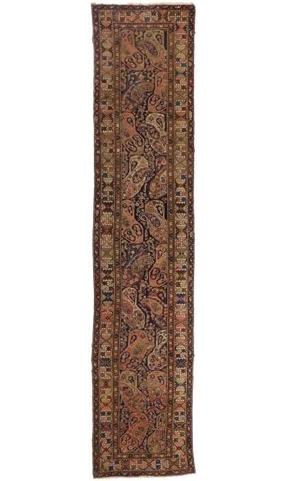 3 x 16 Antique Persian Malayer Runner 72803
