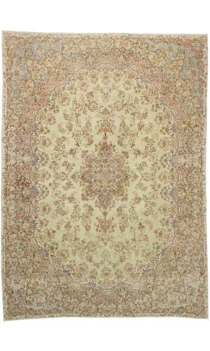 12 x 17 Antique Persian Kerman Rug 73493