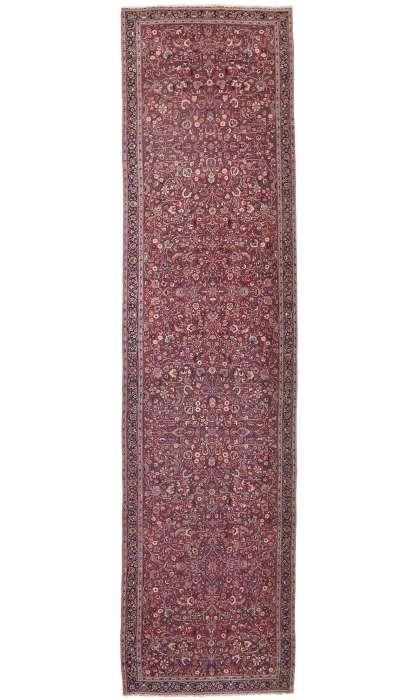 6 x 22 Antique Persian Mashad Runner 74286