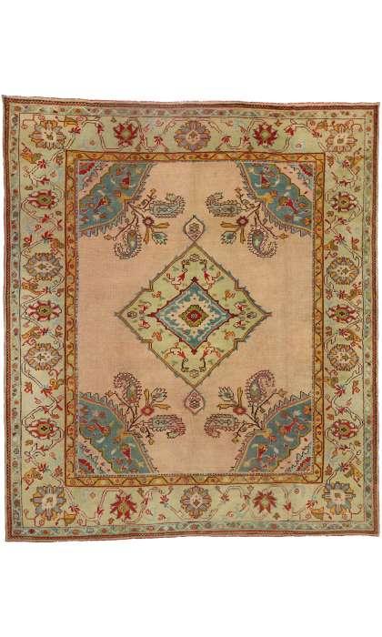 11 x 13 Antique Oushak Rug 76838
