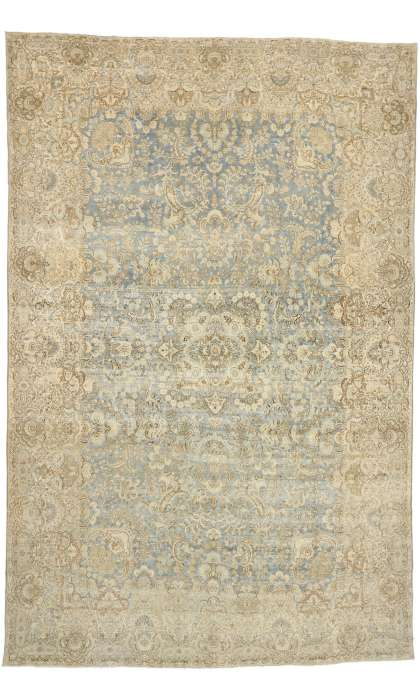 11 x 17 Antique Persian Kerman Rug 77167