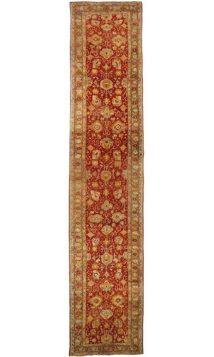 7 x 32 Antique Oushak Rug 77155