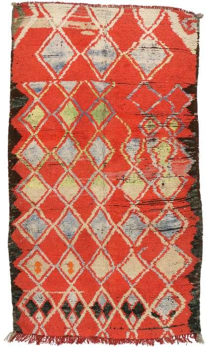 4 x 7 Vintage Moroccan Rug 20233