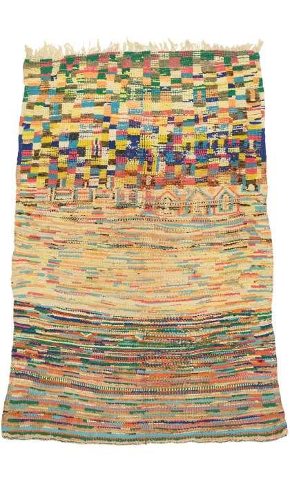 5 x 7 Vintage Moroccan Rug 21006