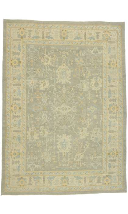 10 x 14 Contemporary Turkish Oushak Rug 5152010 x 14 Contemporary Turkish Oushak Rug 51520