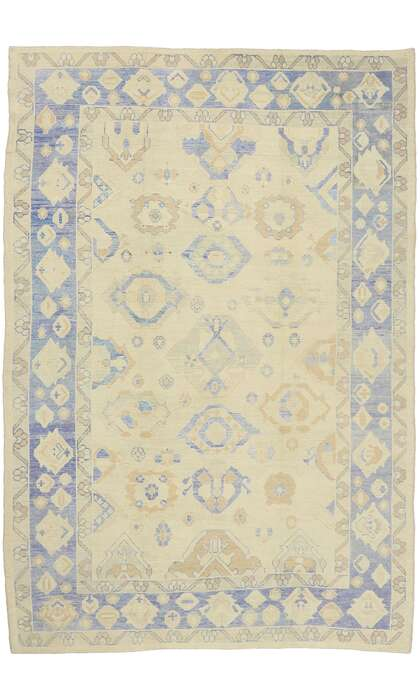 10 x 15 Contemporary Turkish Oushak Rug 51613