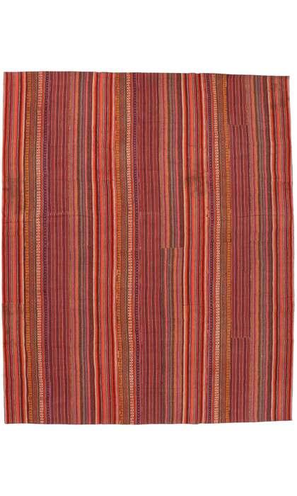 12 x 14 Vintage Kilim Rug 60806