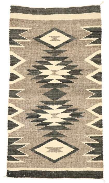 2 x 4 Vintage Navajo Rug 70677